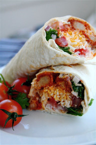 Buffalo Chicken Ranch Wraps - (Free Recipe below)