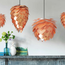 Copper Pendant Shades - 4 styles available