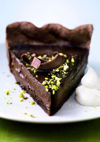 Chocolate Pistachio Pie from Oprah - (Free Recipe below)