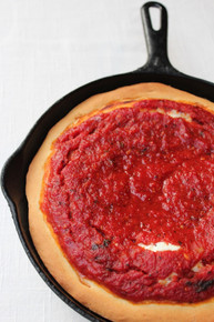 Uno's Authentic Deep Dish Pizza - (Free Recipe below)