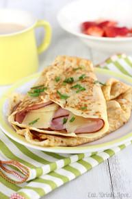 Ham and Gruyère Crêpes - (Free Recipe below)