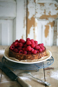 Raspberry Cheesecake with Grand Marnier - (Free Recipe below)