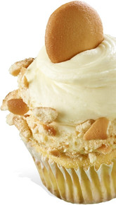 Banana Cream Pie Cupcakes - One Dozen