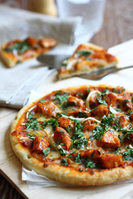 Chicken Tikka Masala Pizza - (Free Recipe below)