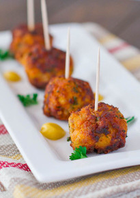 Sweet Potato Turkey Meatballs - (Free Recipe below)