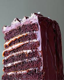 Salted Caramel Chocolate Cake - (Free Recipe below)