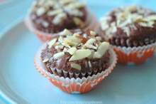 Almond Joy Mini Cupcakes - One Dozen