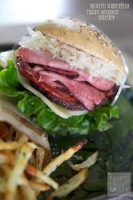 Reuben Burger - (Free Recipe below)