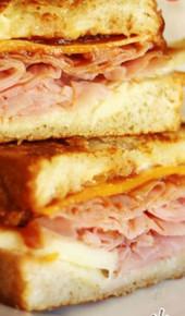 Apple, Ham, & Cheddar Melts - (Free Recipe below)