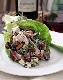 Cherry, Pecan & Tarragon Chicken Salad - (Free Recipe below)