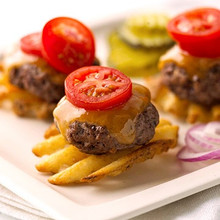 Cheeseburger Waffle Potato Bites - (Free Recipe below)