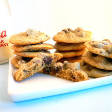 Orange Chocolate Chip Cookies - One Dozen