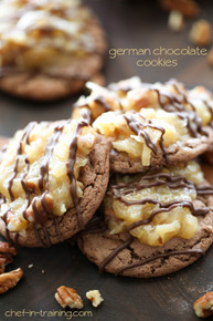German Chocolate Cookies - (Free Recipe below)