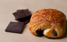 Pain au Chocolate Croissants - One Dozen