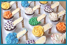 Designer Shoe Cupcakes Assortment - One Dozen