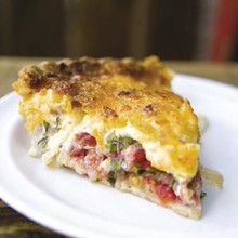 Charleston Tomato Pie - (Free Recipe below)