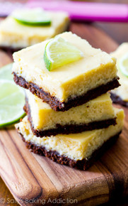 Key Lime Pie Squares - One Dozen w/ recipe