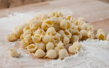 Fresh Shell Pasta - One Pound