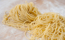 Fresh Angel Hair Pasta - One Pound