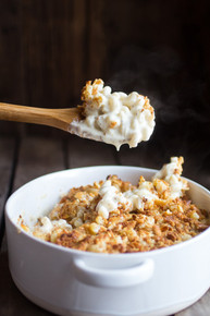 Creamy 4 Cheese Brie and Buttery Ritz Cracker Mac and Cheese - (Free Recipe below)