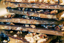 Nantucket Holiday English Toffee Dark Chocolate Bark