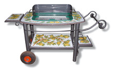 Italian Ceramic Barbecue - Custom designs accepted