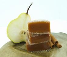 Cinnamon Pear Caramels - 1/2 Pound