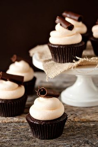 Grand Marnier and Chocolate Cupcakes - One Dozen