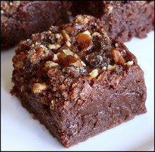 Candied Pecan Praline Brownies - One Dozen