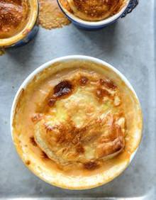 Lobster Bisque Pot Pies - (Free Recipe below)
