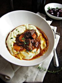 Daube Provençale French Beef Stew with Red Wine - (Free Recipe below)