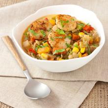 Scallop Corn Chowder - (Free Recipe below)