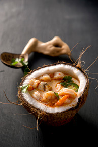 Shrimp Coconut Curry Soup - (Free Recipe below)