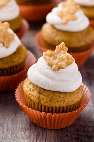 Pumpkin Pie Cupcakes - One Dozen