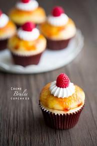 Creme Brûlée Cupcakes - One Dozen