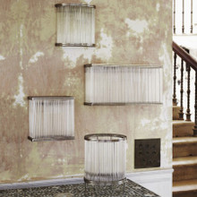 Fontaine Glass Rod Lamp - Various Sizes, Styles