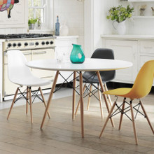 Retro Chairs - Available in White, Black and Yellow