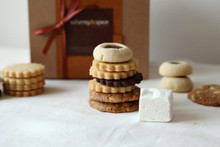 Cookie gift box, Herbs & Spices Cookie Sampler