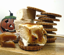 Pumpkin S'mores Kit , perfect for Fall / Winter
