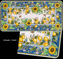 Lemon & Sunflower Fields - custom designs, sizes and colors