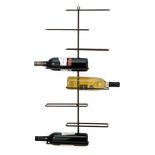 Frame Metal Wall Wine Rack