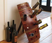 Wine Barrel Riding Rack Holder