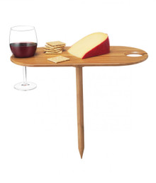 Bamboo Wine Table-Outdoor