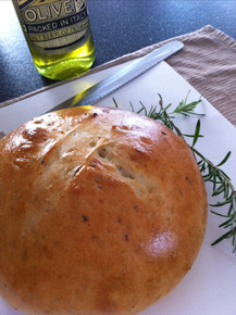 Garlic Rosemary Loaf Bread