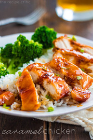 Caramel Chicken - (Free Recipe below)
