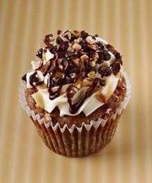 Bourbon Ganache Cupcakes - One Dozen