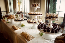 Elegant Wedding Dessert Table