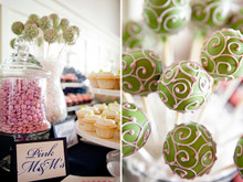 Wedding Cake Pop Display