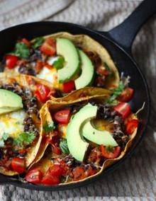 Baked Huevos Rancheros - (Free Recipe below)