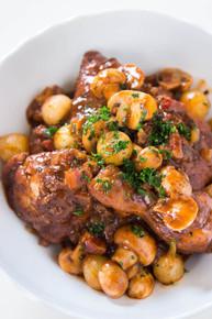 French Stew Coq Au Vin - (Free Recipe below)